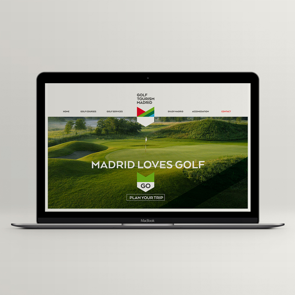 golfmadrid web