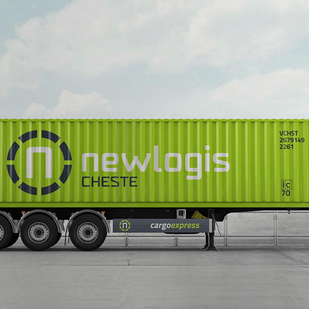 newlogis imagen corporativa responsive